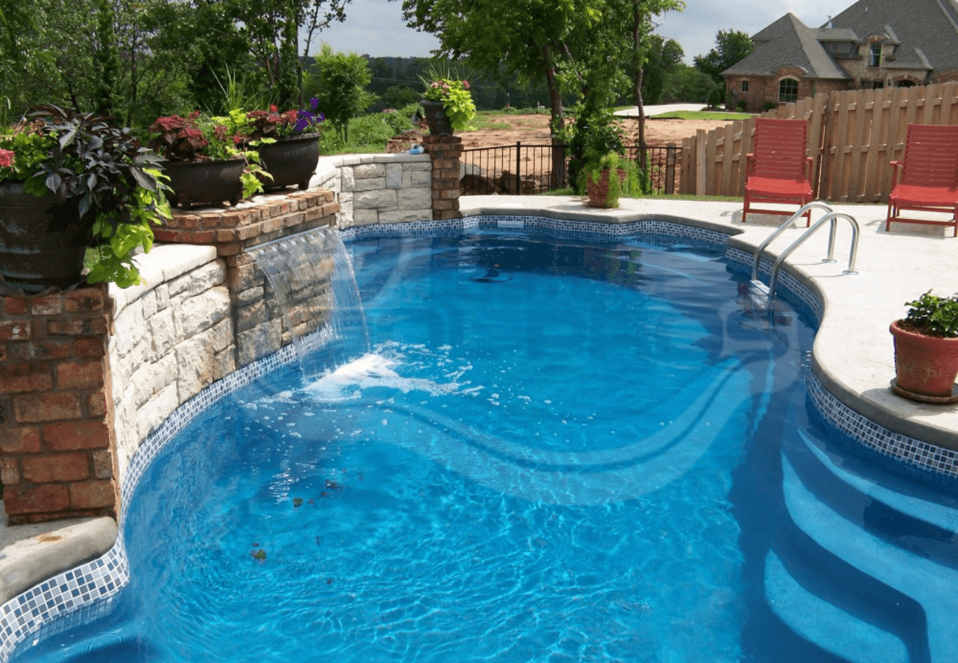 Professionally Installed Pool