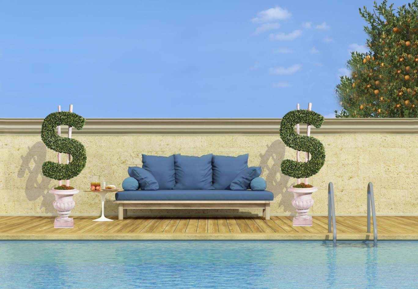Inground Swimming Pool Increases the Value of Your Home
