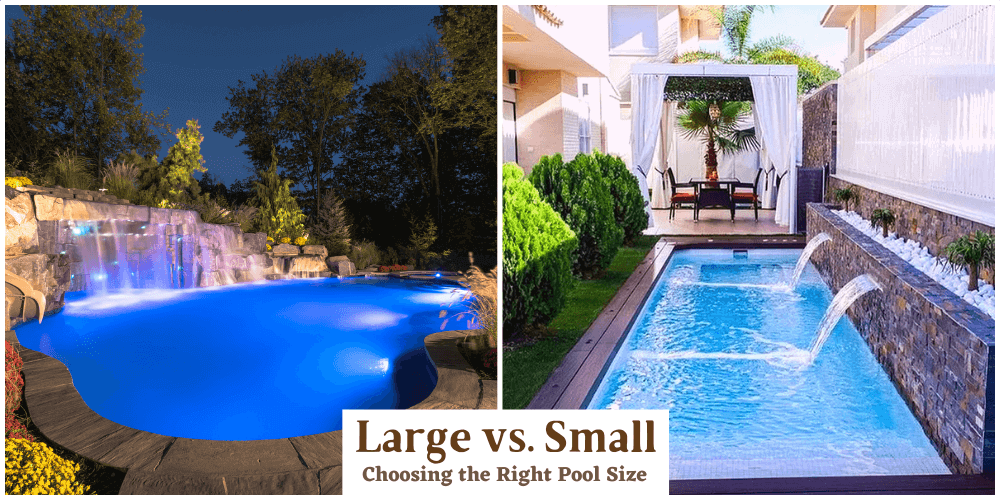 Large vs. Small Pools