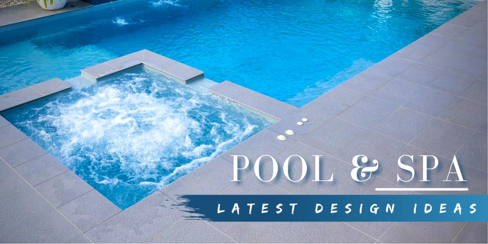 Latest Design Ideas for Backyard Pool with Spa